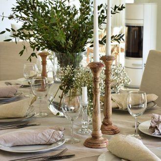 komunia-w domu dekoracja stołu